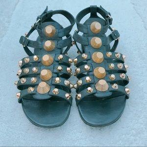 ***Balenciaga Arena Sandals***
